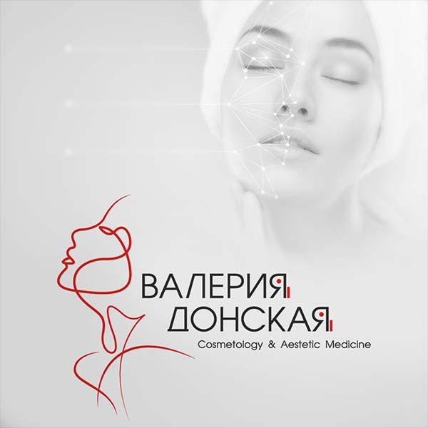 Логотип косметолога Валерии Донской