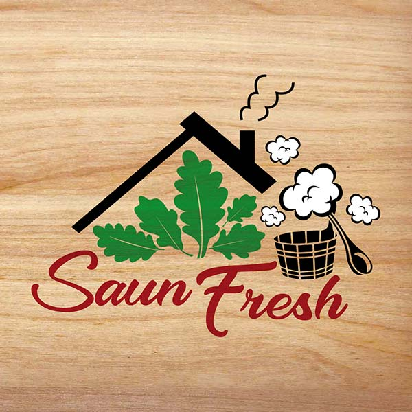 Логотип бани Saun Fresh