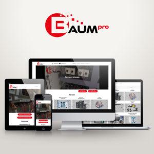 Сайт автоматики Baumpro