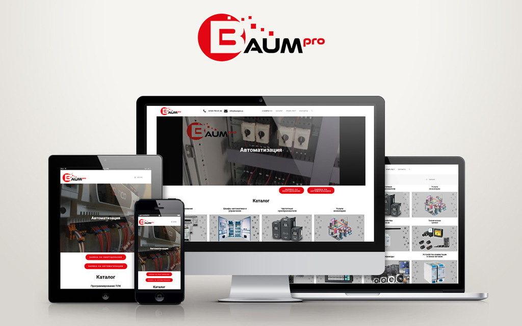 сайт Baumpro