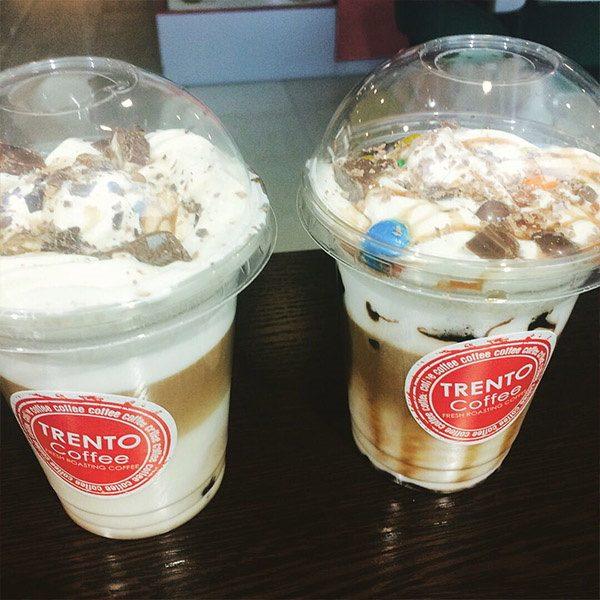 Стикер на кофе Trento Coffee
